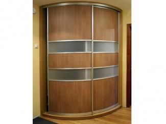 Шкаф - купе радиусный ламинат - Изготовление мебели на заказ «Мега»