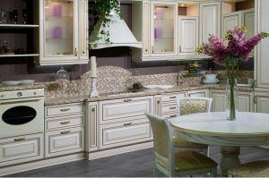 Угловая кухня с подсветкой Вестель - Мебельная фабрика «NewLine»