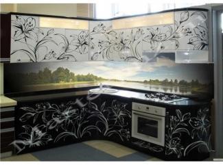 Кухонный гарнитур из пластика с фотопечатью 70 - Мебельная фабрика «Master»