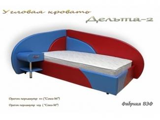 Угловая кровать Дельта 2 - Мебельная фабрика «ВЭФ»