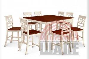Обеденная группа стол и стул ПАУЭЛС - Мебельная фабрика «ВМК-Шале»