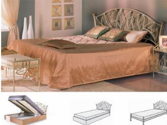 Кровать Капри  - Мебельная фабрика «Командор»