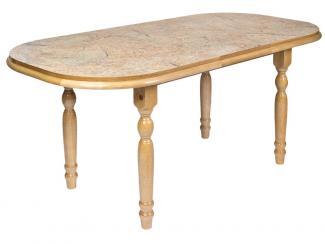 Стол раздвижной Золотой мрамор