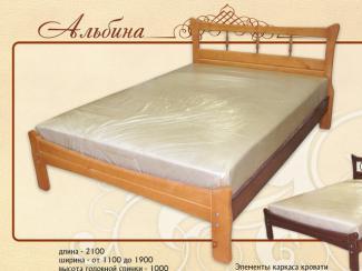 кровать Альбина М-26 - Мебельная фабрика «Селена»