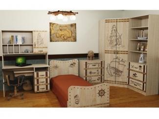 Детская модульная Ларго 1 - Мебельная фабрика «Глория»