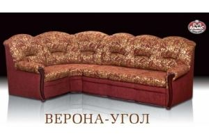 Тканевый угловой диван Верона  - Мебельная фабрика «Альянс-М»