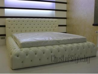 Двуспальная кровать Shance - Мебельная фабрика «ChesterStyle», г. Гродно