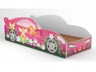 Детская кровать-машина Субаро 6 - Мебельная фабрика «Астера (ТМФ)», г. Ульяновск