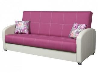 Розовый эконом-диван Грация  - Мебельная фабрика «Владикор»