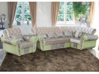 Французский угловой диван