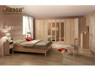 Спальный гарнитур с большим шкафом SHERLOCK - Мебельная фабрика «Глазовская мебельная фабрика»