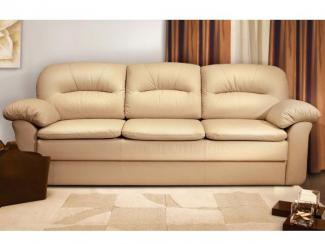 Диван прямой Бергамо Lux суперкнижка - Мебельная фабрика «Формула дивана»