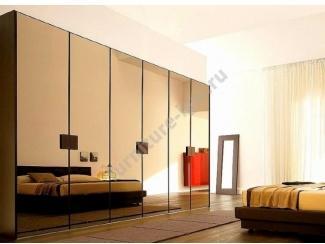 Большой зеркальный шкаф-купе  - Изготовление мебели на заказ «Игал»