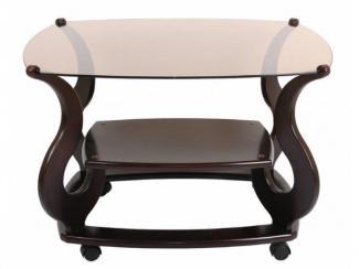 Стол журнальный Варьете 5.1 - Мебельная фабрика «Мебель из стекла»