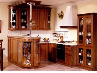 Кухня Массив дуба 5 - Мебельная фабрика «Адаш»