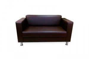 Прямой коричневый диван Торонто - Мебельная фабрика «Нико»