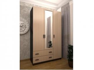 Шкаф 3-х дверный с 2-мя ящиками ЛДСП  - Мебельная фабрика «Лига Плюс» г. Волжск