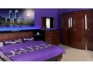 Комфортная спальня Кристал  - Мебельная фабрика «Астмебель»
