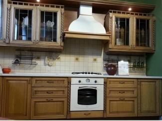 Кухня  Винтаж  из массива дуба - Мебельная фабрика «Лидер Массив»