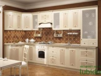 кухня угловая Ассоль жемчуг