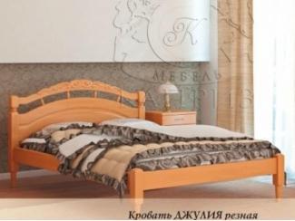 Кровать Джулия резная - Мебельная фабрика «Каприз»