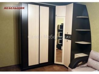 Шкаф-купе с угловым шкафом 135В-16 - Мебельная фабрика «Мебельщик» г. Саранск