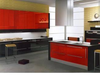 Кухня прямая Модерн 17 - Мебельная фабрика «ДСП-России»