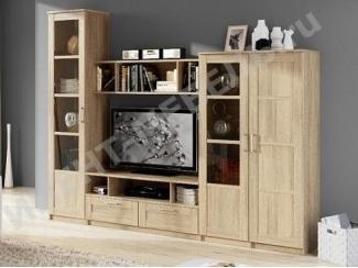 Светлая гостиная Композиция 4 - Мебельная фабрика «Континент-мебель»