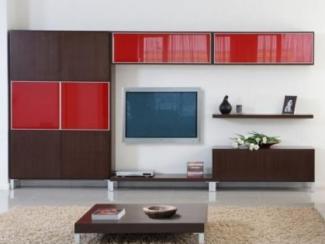 Гостиная стенка венге  - Изготовление мебели на заказ «Мега»