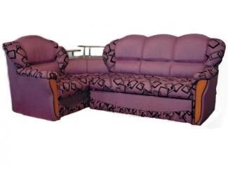 Мягкий угловой диван с полками Грация - Мебельная фабрика «Вега»