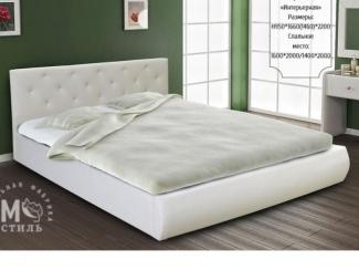 Низкая двухспальная кровать Интерьерная - Мебельная фабрика «М-Стиль»