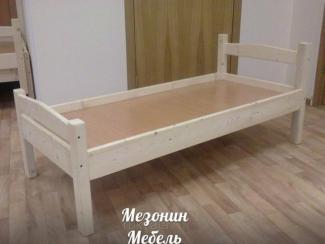 Кровать детская из массива Мезонин Эко - Мебельная фабрика «Мезонин мебель»