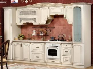 Кухонный гарнитур прямой Мадлен крем - Мебельный магазин «Zaman», г. Москва