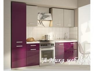 Глянцевая кухня с рисунком Эстель - Мебельная фабрика «А-Ника», г. Ульяновск