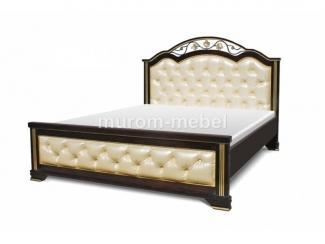 Кровать Амелия с мягкой вставкой - Мебельная фабрика «Муром-мебель»