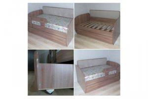 Кровать-софа Малыш - Мебельная фабрика «Мебельный Кот»