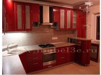 Кухня c фасадами из эмалированного МДФ - Мебельная фабрика «ТРИ-е»