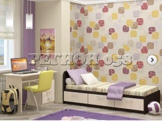 Детская односпальная кровать  - Мебельная фабрика «Регион 058»