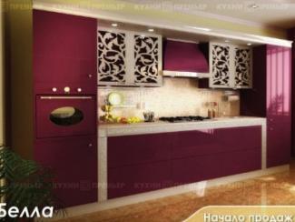 Кухня Белла Серебро - Мебельная фабрика «Кухни Премьер»