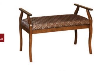 Банкетка с подлокотниками - Мебельная фабрика «ЛНК мебель»