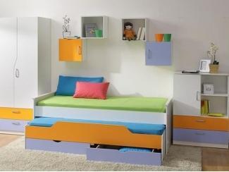 Детская модульная Витамин - Мебельная фабрика «Вик»