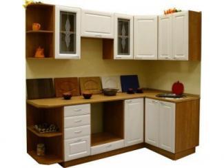Кухонный гарнитур угловой МДФ Белый - Мебельная фабрика «Петербургская мебельная компания (ПМК)»