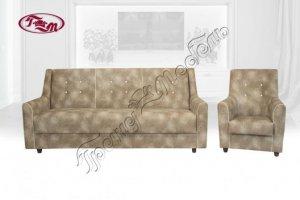 Диван прямой Винсент 3-1 - Мебельная фабрика «Гранд-мебель»