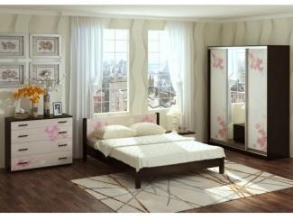Спальня Милания - рисунок Сакура - Мебельная фабрика «БелДревМебель»