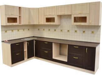 Кухня угловая Лиственница венге - Мебельная фабрика «Техсервис»