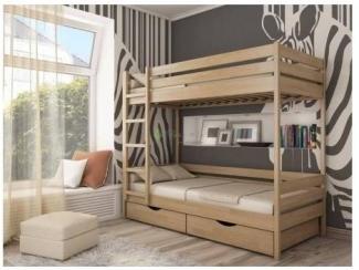 Детская Двухъярусная кровать 1 - Мебельная фабрика «Верба-Мебель»