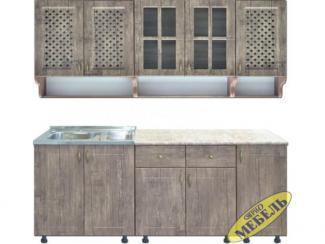 Кухня прямая 48 - Мебельная фабрика «Трио мебель»