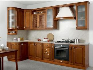 Кухня угловая Массив люкс - Мебельная фабрика «Боровичи-мебель», г. Боровичи