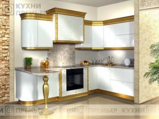 Кухня Белла Золото - Мебельная фабрика «Кухни Премьер»