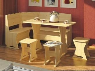 Кухонный уголок Гармония из массива сосны  - Мебельная фабрика «Фран»